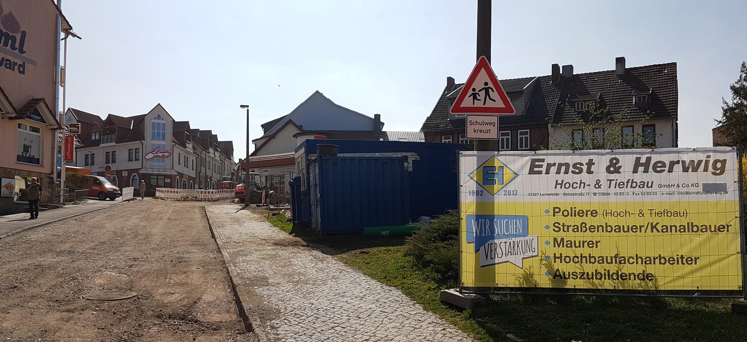 Grundhafter-Ausbau-Bergstraße-Leinefelde